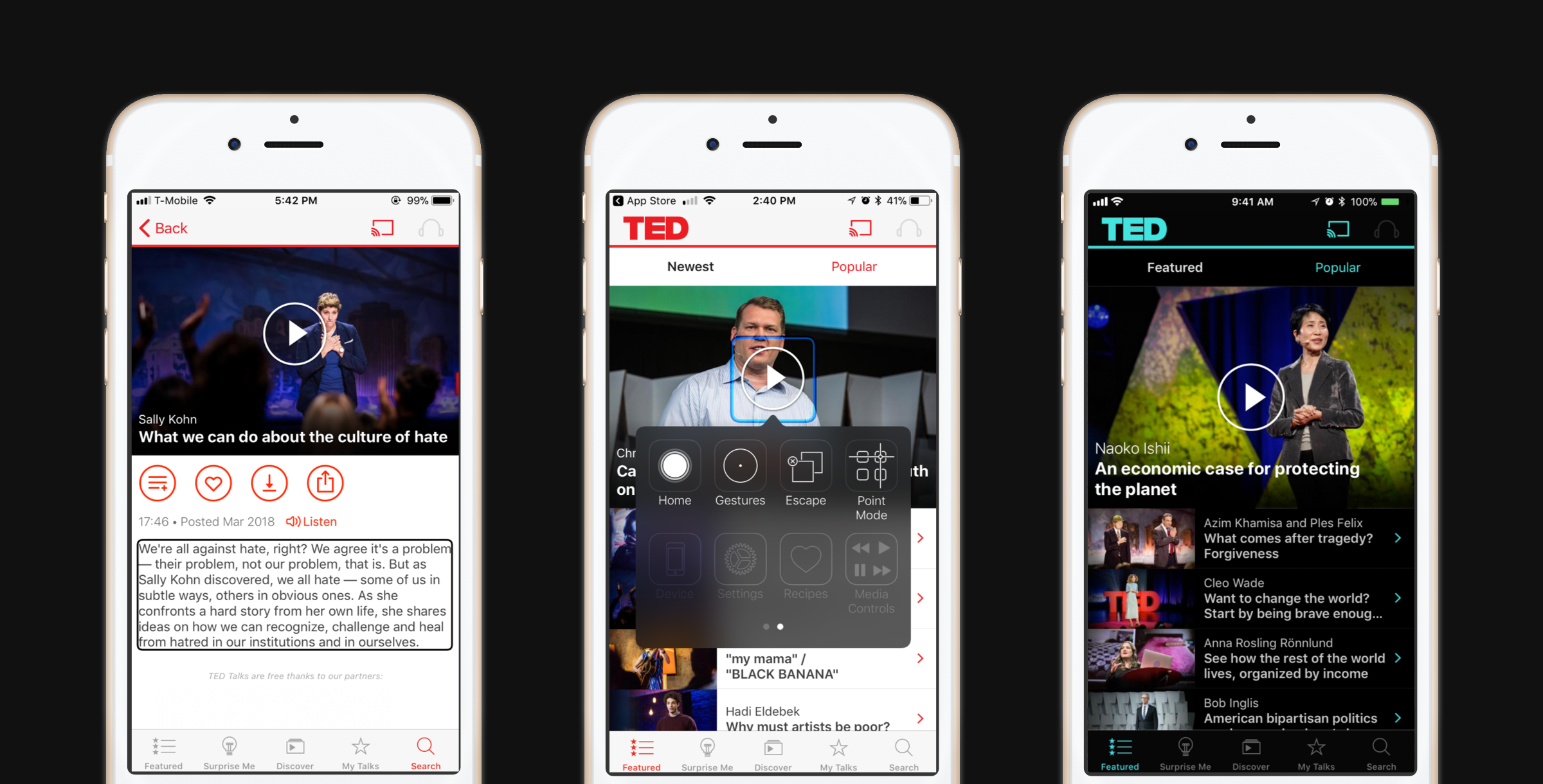 How we're making the TED iOS app more accessible for all | TED Blog