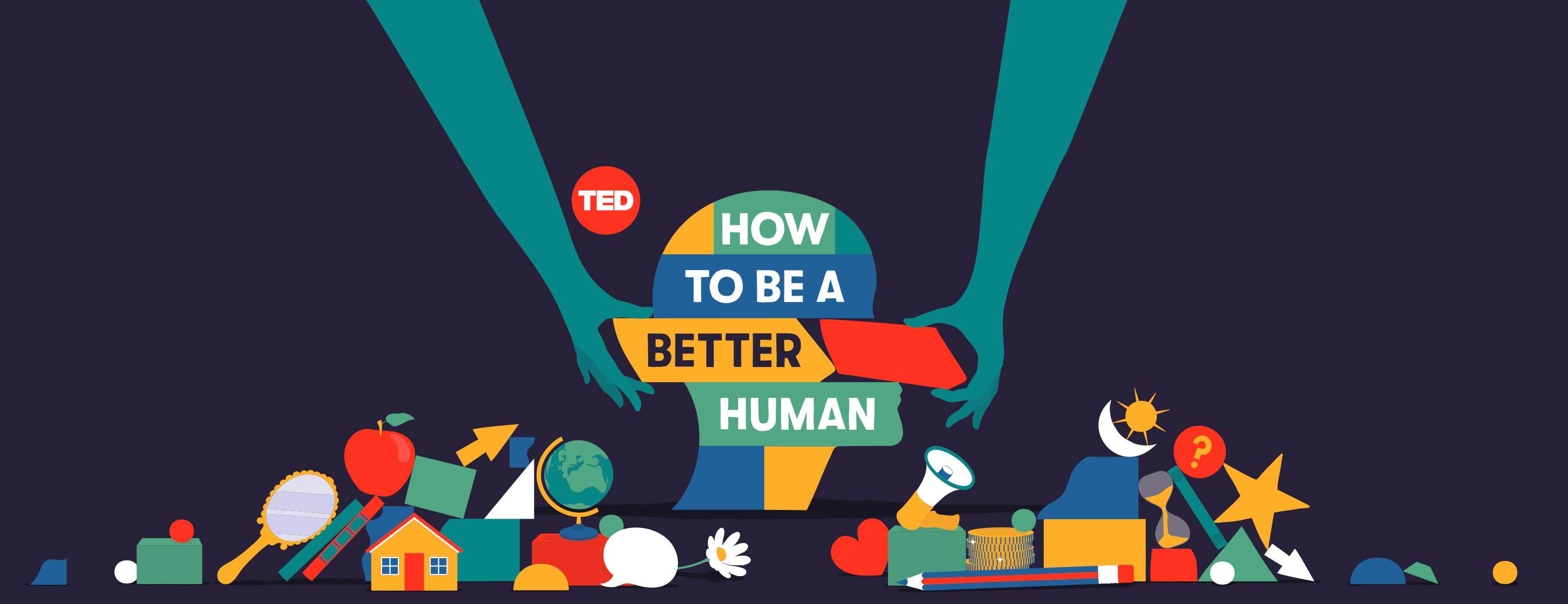 """TED launches """"How to Be a Better Human,"""" a new original podcast hosted by Chris Duffy 