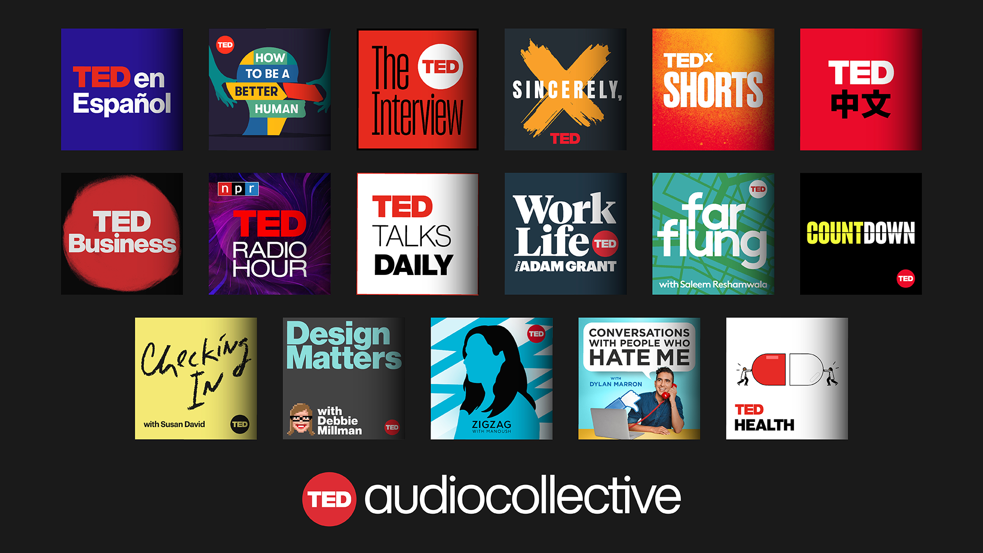 TED launches TED Audio Collective for podcasts