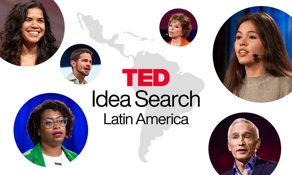 Have an idea to share? Apply to our TED Idea Search: Latin America 2021